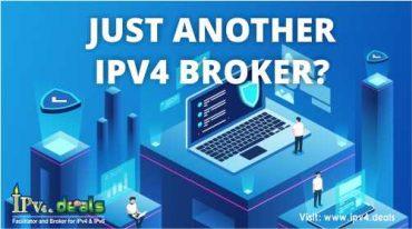 JUST ANOTHER IPV4 BROKER?