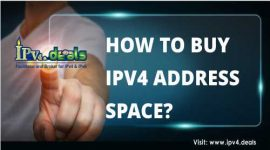 HOW TO BUY IPV4 ADDRESS SPACE?
