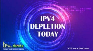 IPV4 DEPLETION TODAY