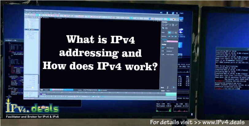what is IPv4 addressing