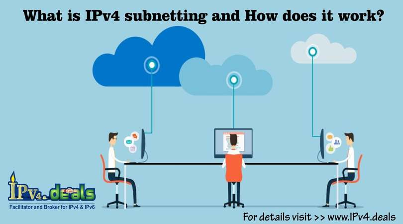 What is IPv4 subnetting and how does it work?