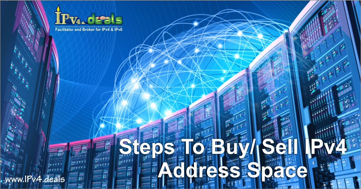 Steps to Buy/Sell IPv4 Addresses