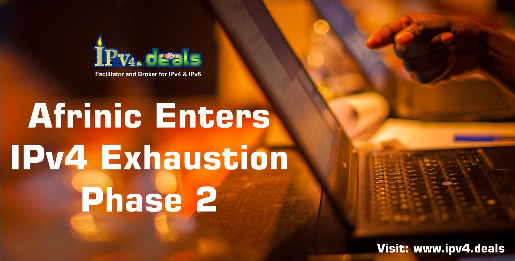 AFRINIC Enters IPv4 Exhaustion Phase 2