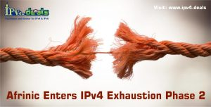 AFRINIC Enters IPv4 Exhaustion Phase 2