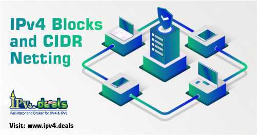 IPv4 Blocks and CIDR Netting
