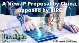 A New IP Proposal by China, opposed by RIPE
