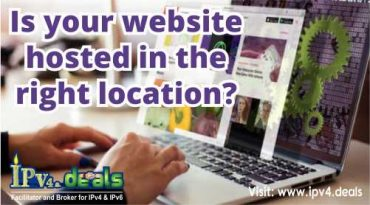 Is your website hosted in the right location?