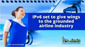 IPv6 set to give wings to the airline industry
