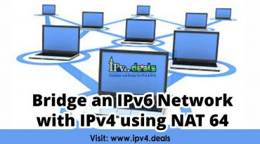 Bridge an IPv6 Network with IPv4 using NAT 64