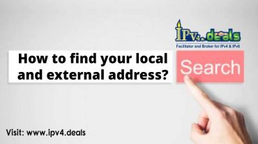 How to find your local and external address?