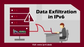 Data Exfiltration in IPv6