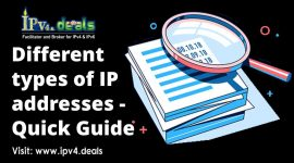 Different types of IP addresses – Quick Guide