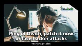 Ping of Death, patch it now or face hacker attacks