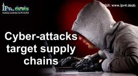 How does Cyber-attacks target supply chains