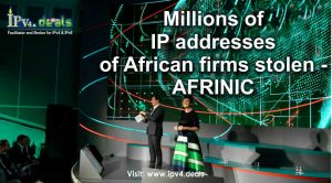 IP addresses of African firms