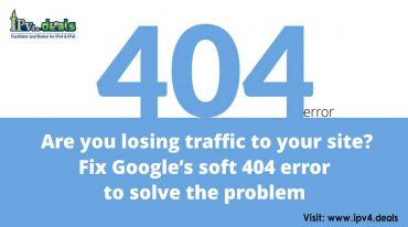 Are you losing traffic to your site? Fix Google's soft 404 error to solve the problem