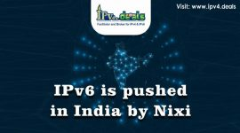 IPv6 is pushed in India by Nixi