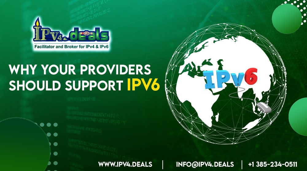 Why your provider should support IPv6